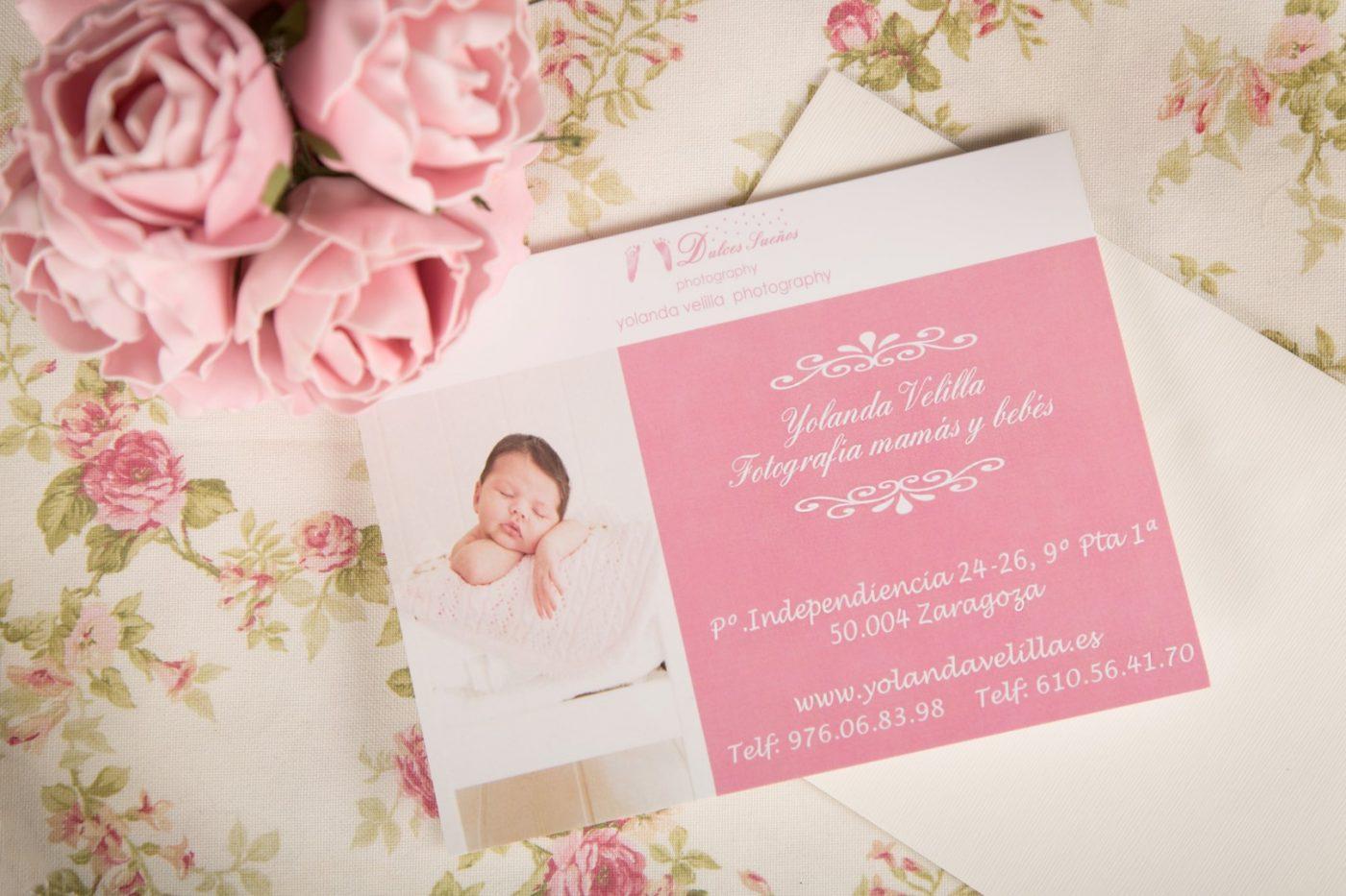Tarjeta Regalo, Sesión fotos bebe y Recien Nacido