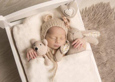 Fotografia newborn dulces Sueños Isabel