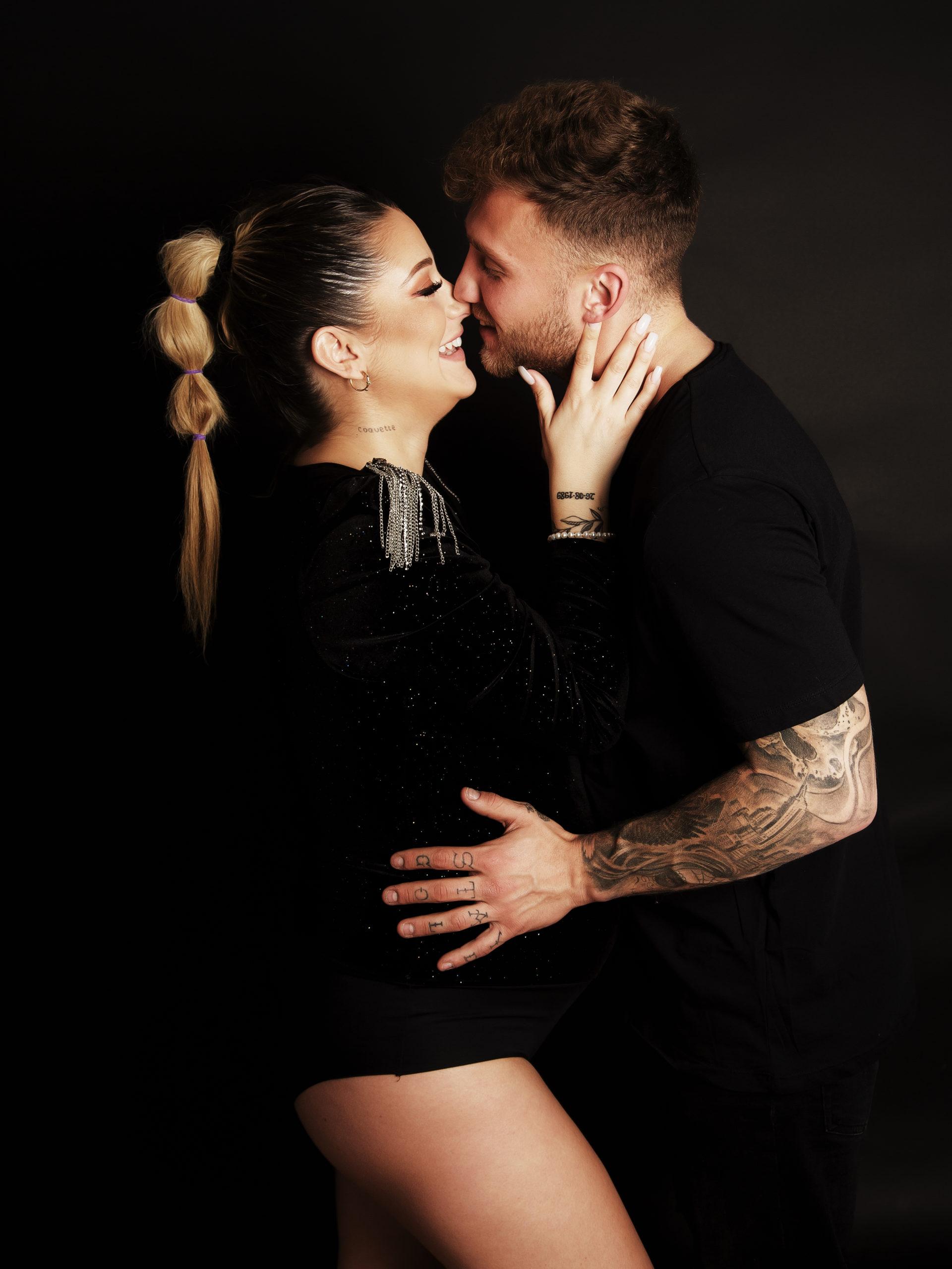 sesion de fotos de embarazo en pareja
