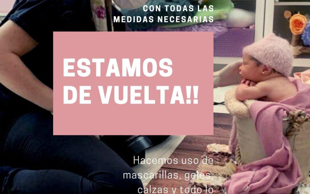 Fotografía Bebé Zaragoza – Estamos de Vuelta